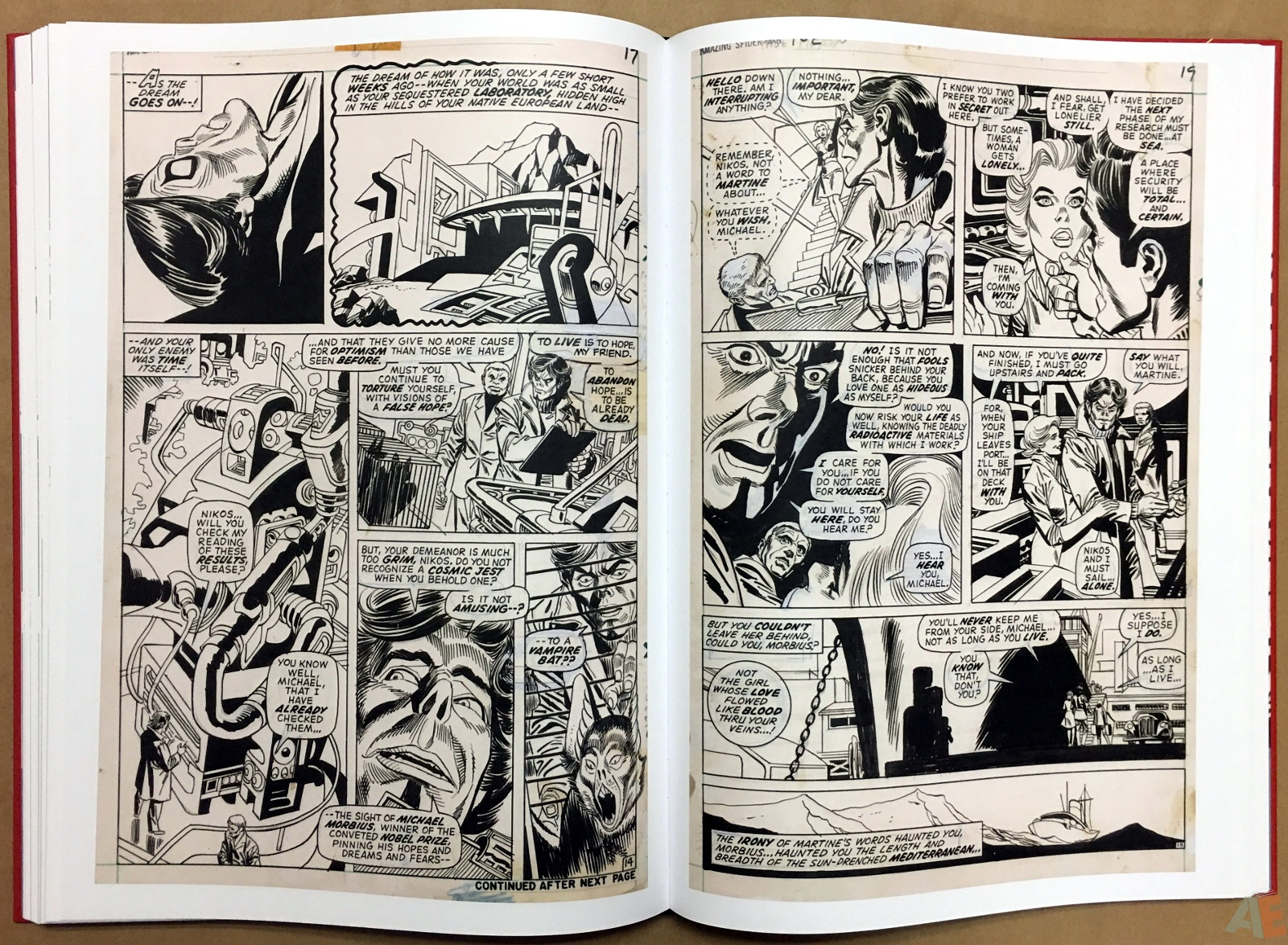 Gil Kane's The Amazing Spider-Man Artist's Edition 34