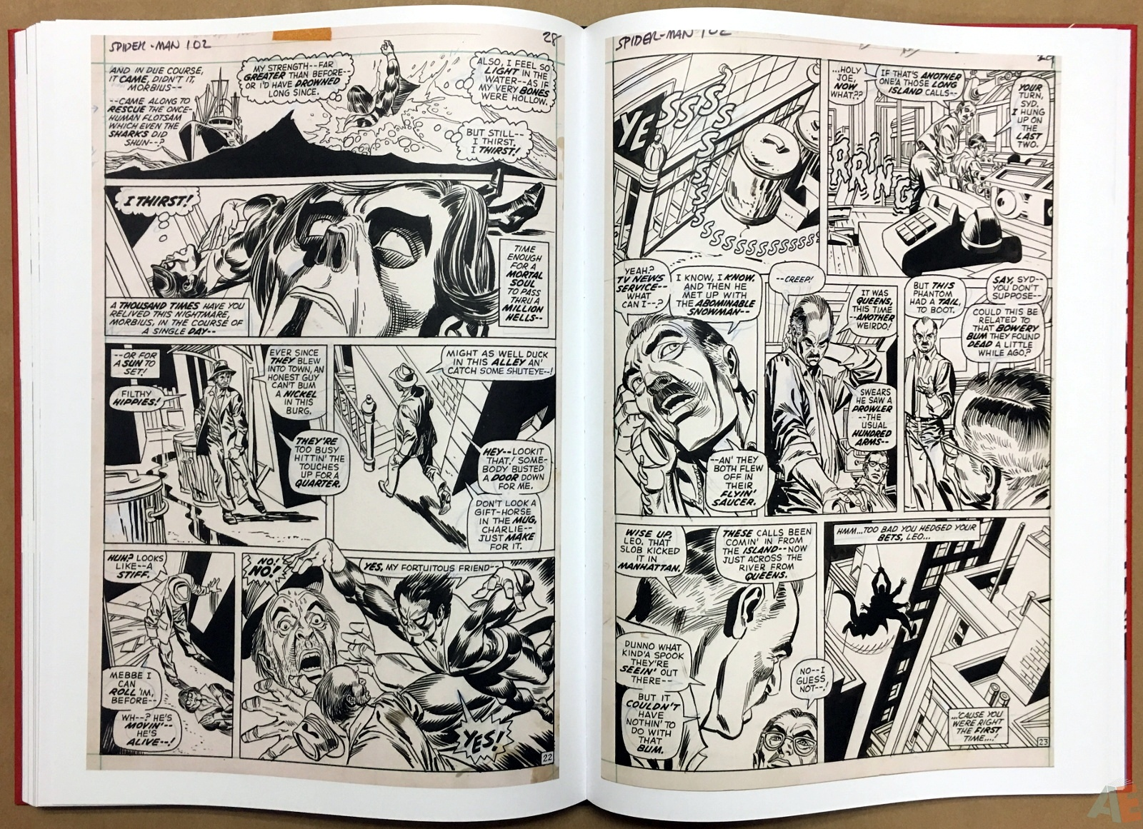 Gil Kane's The Amazing Spider-Man Artist's Edition 36