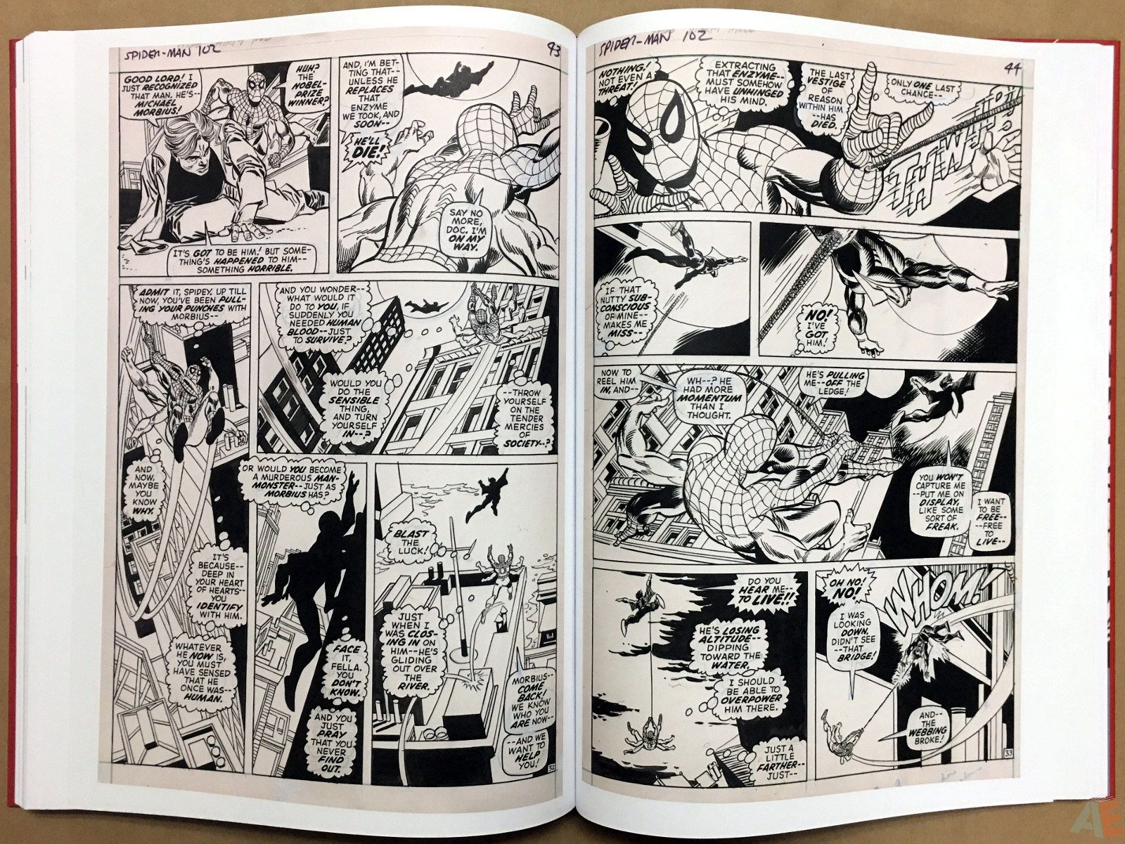 Gil Kane's The Amazing Spider-Man Artist's Edition 38