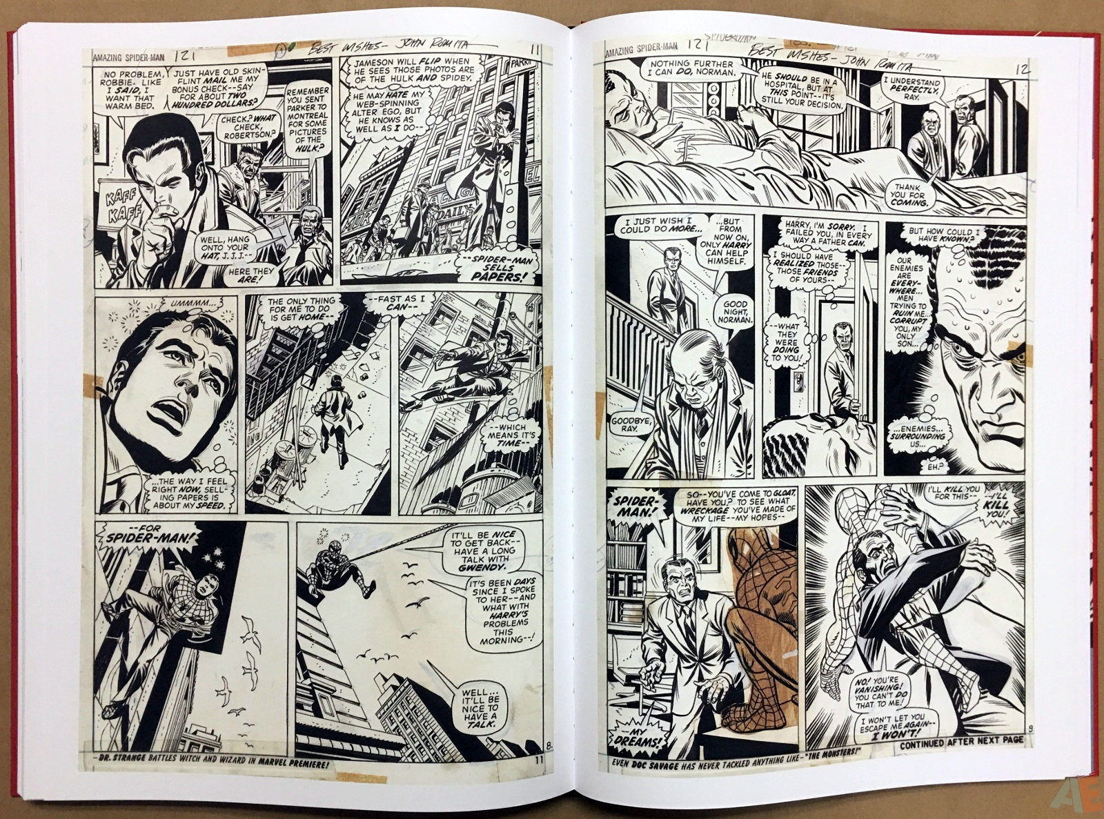 Gil Kane's The Amazing Spider-Man Artist's Edition 40