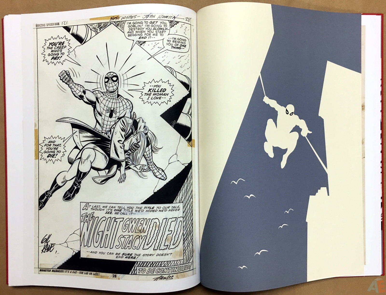 Gil Kane's The Amazing Spider-Man Artist's Edition 44