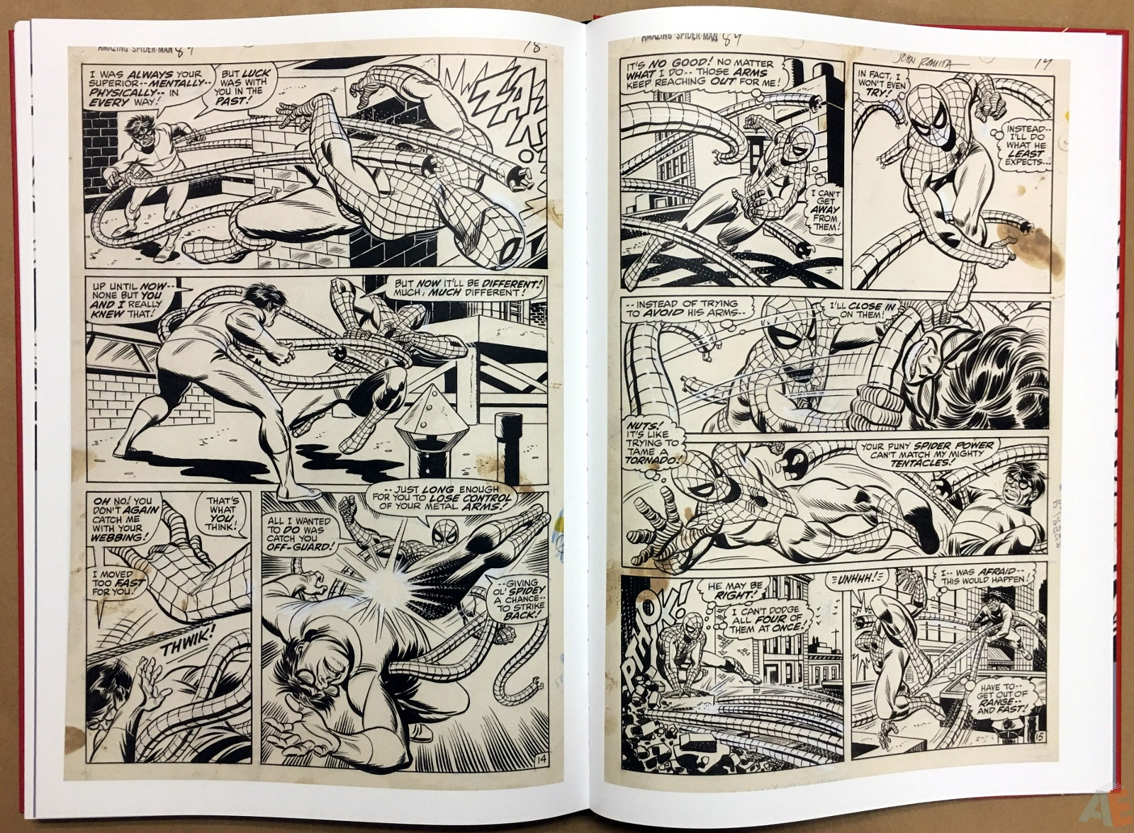 Gil Kane's The Amazing Spider-Man Artist's Edition 48