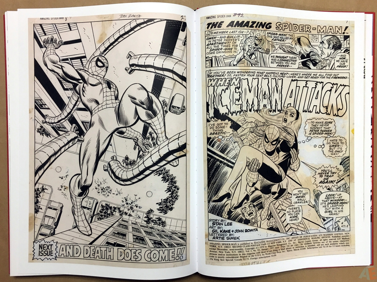 Gil Kane's The Amazing Spider-Man Artist's Edition 50