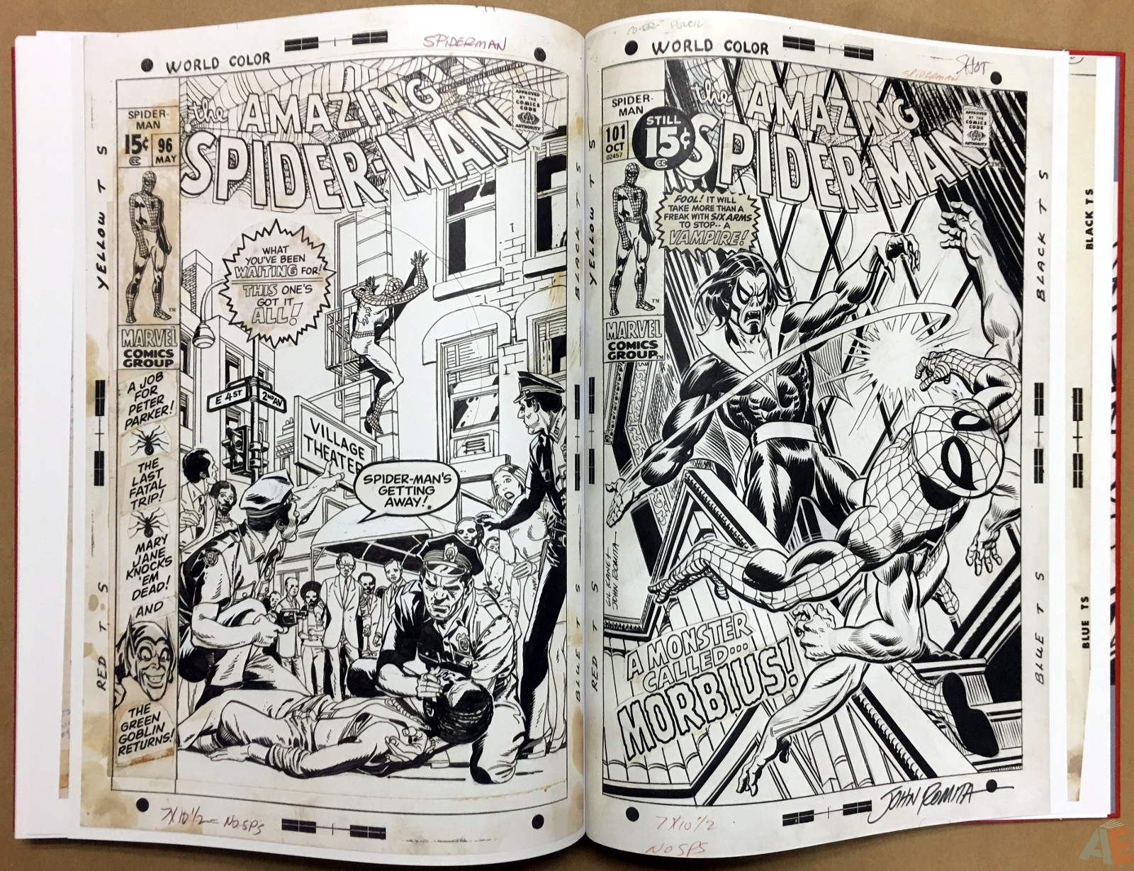 Gil Kane's The Amazing Spider-Man Artist's Edition 52