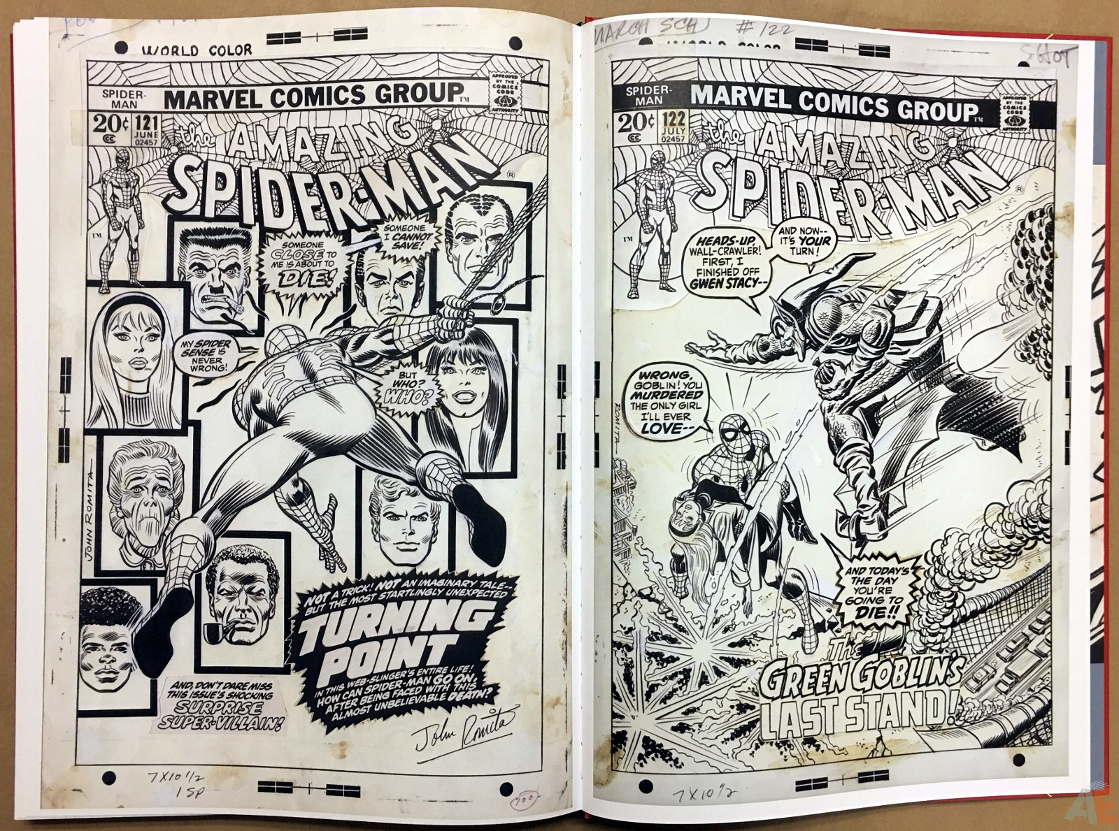 Gil Kane's The Amazing Spider-Man Artist's Edition 54