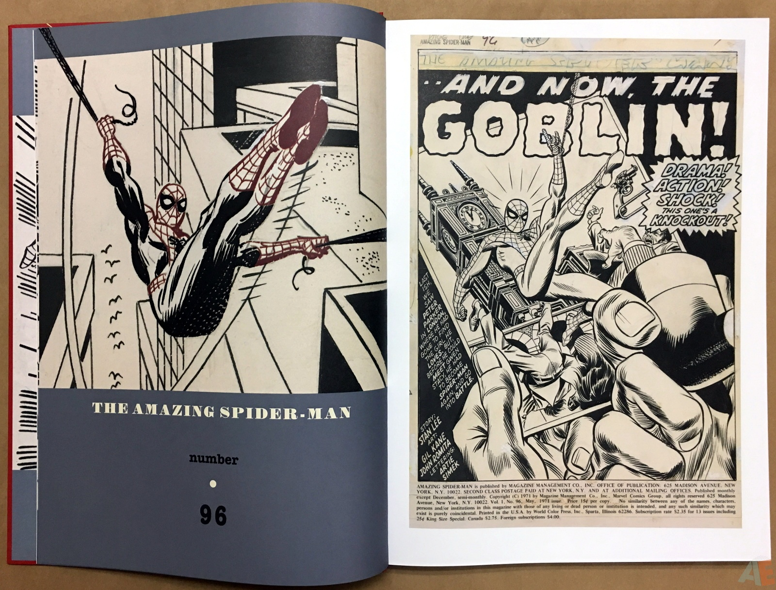 Gil Kane's The Amazing Spider-Man Artist's Edition 8