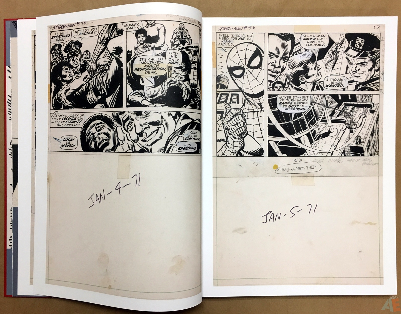 Gil Kane's The Amazing Spider-Man Artist's Edition 10