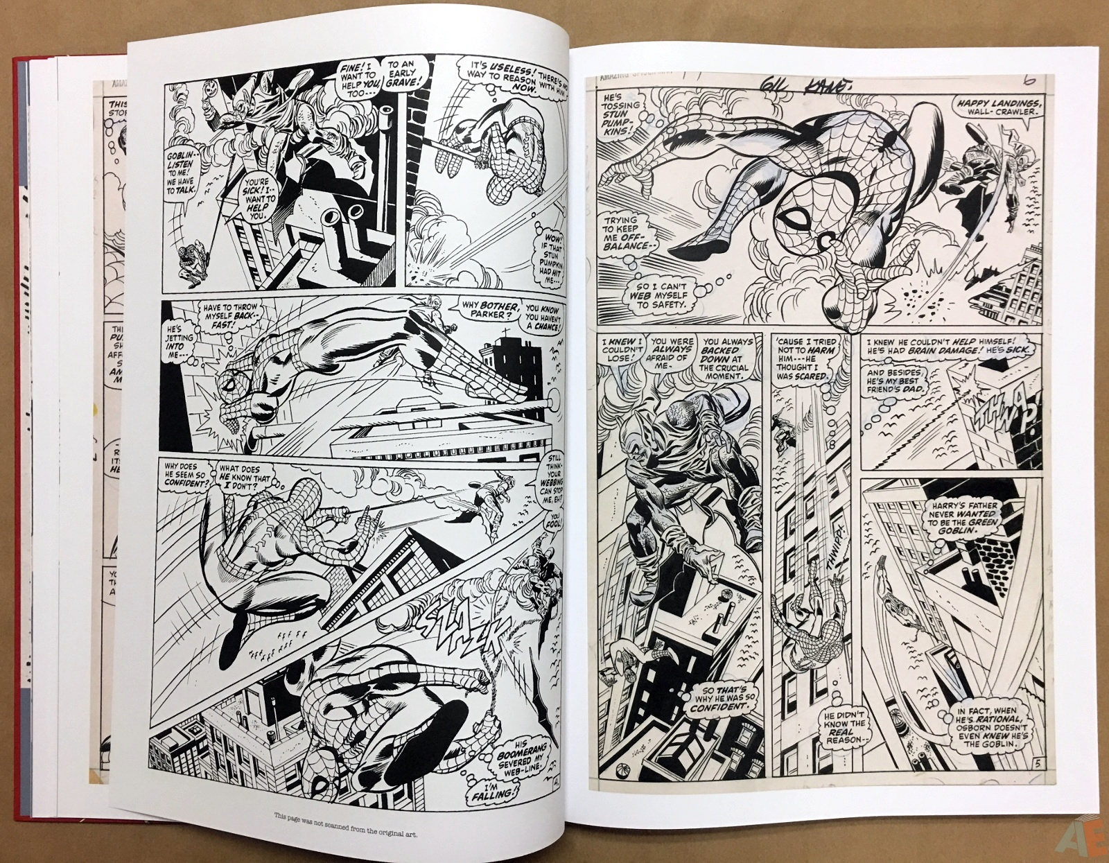 Gil Kane's The Amazing Spider-Man Artist's Edition 14