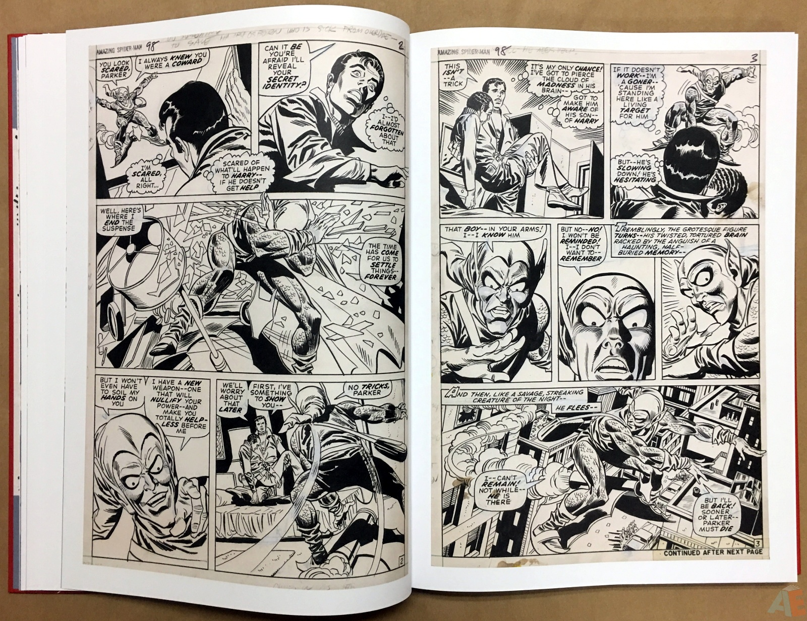 Gil Kane's The Amazing Spider-Man Artist's Edition 18