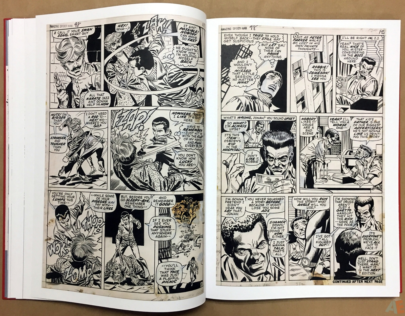Gil Kane's The Amazing Spider-Man Artist's Edition 20