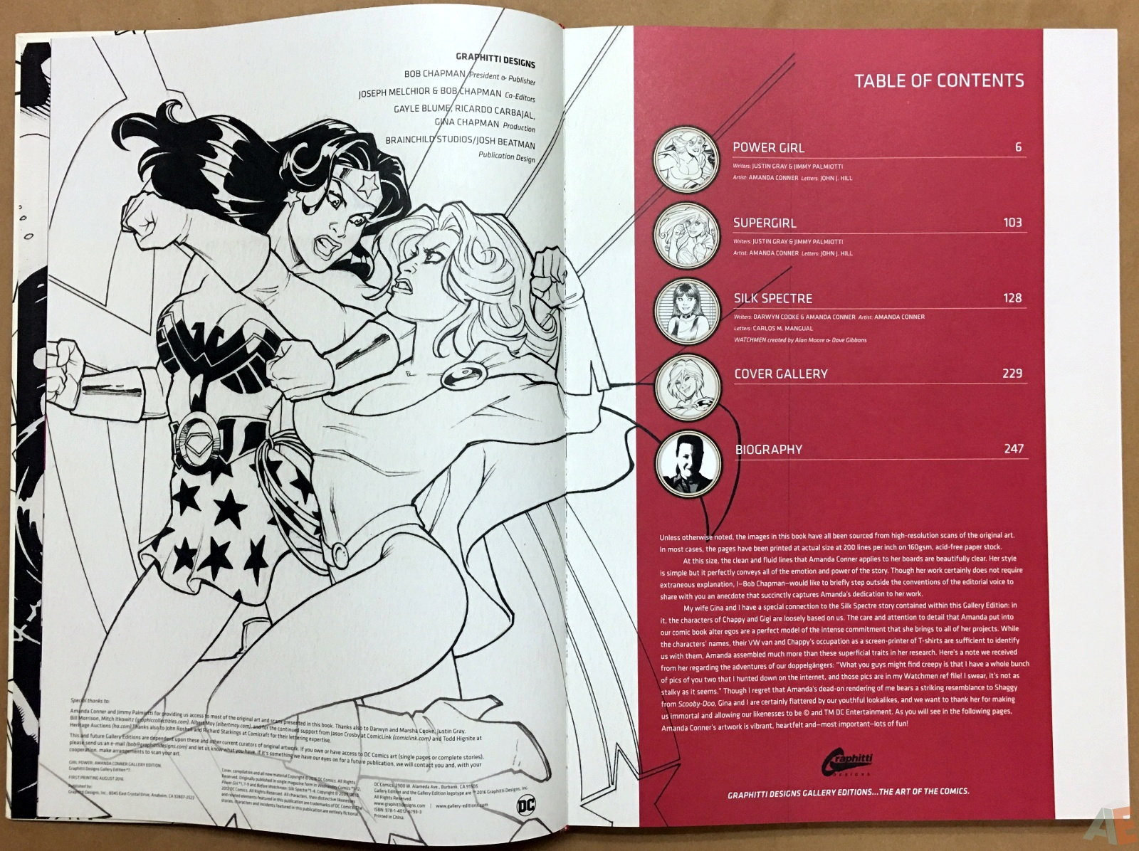 Girl Power: Amanda Conner Gallery Edition