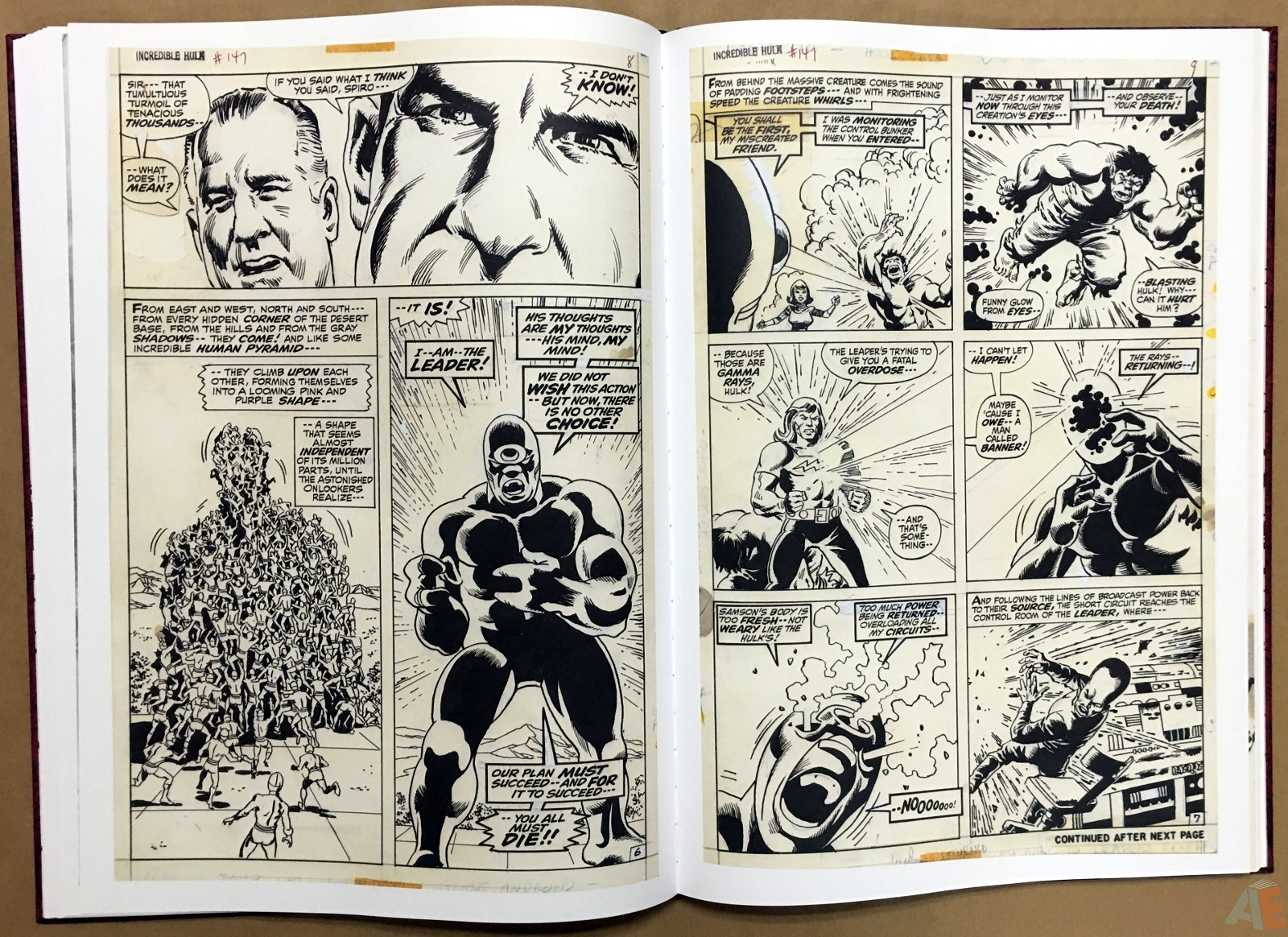 Herb Trimpe's The Incredible Hulk Artist's Edition 26