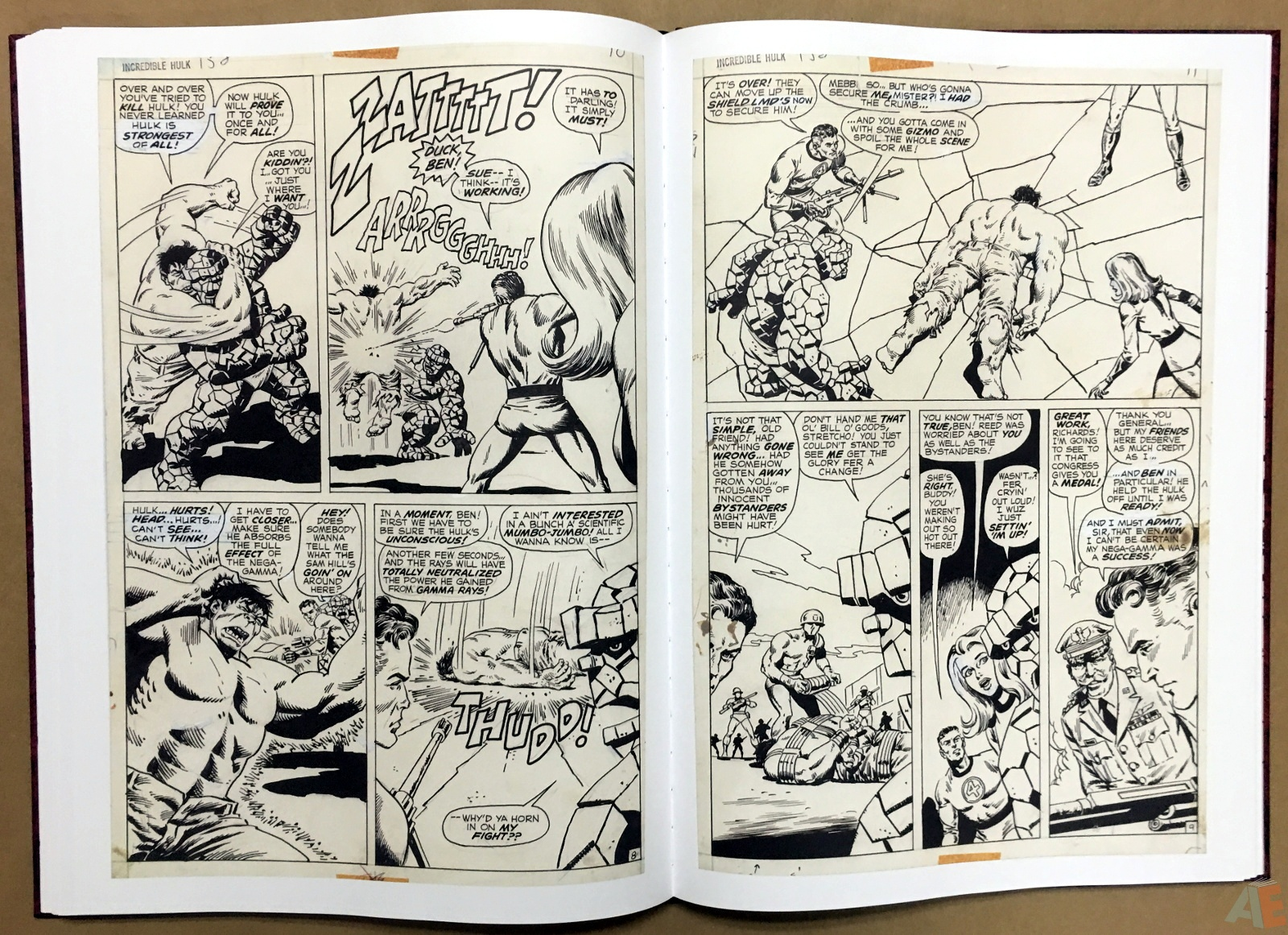Herb Trimpe's The Incredible Hulk Artist's Edition 30