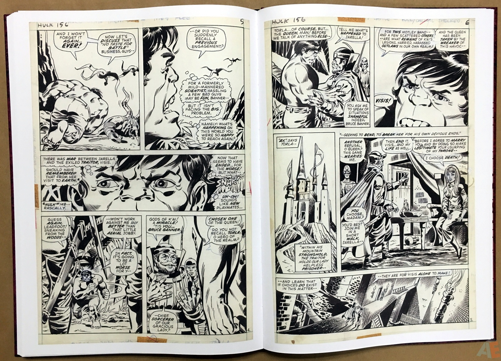 Herb Trimpe's The Incredible Hulk Artist's Edition 36
