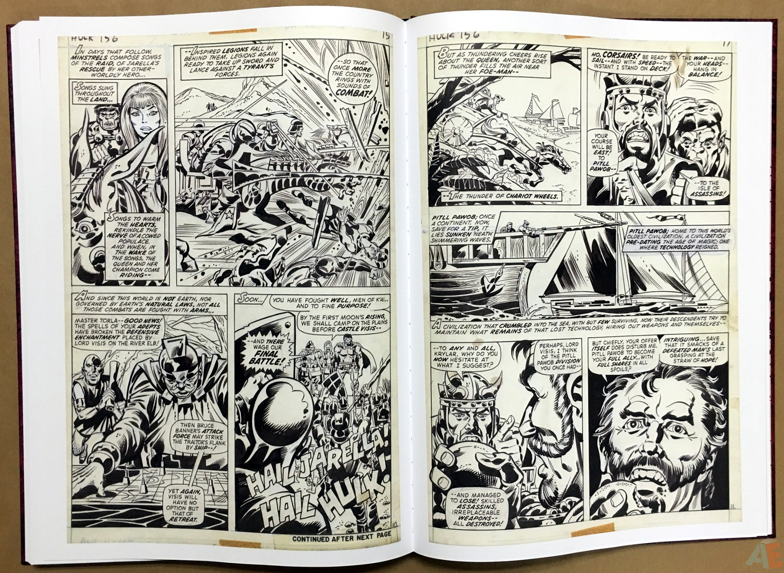Herb Trimpe's The Incredible Hulk Artist's Edition 38