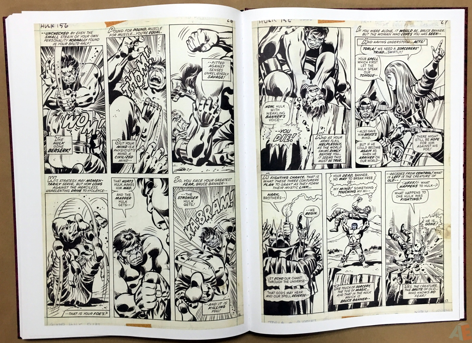 Herb Trimpe's The Incredible Hulk Artist's Edition 40