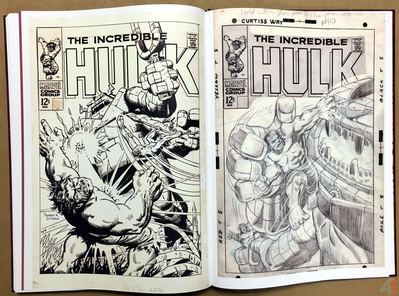 Herb Trimpe's The Incredible Hulk Artist's Edition 44