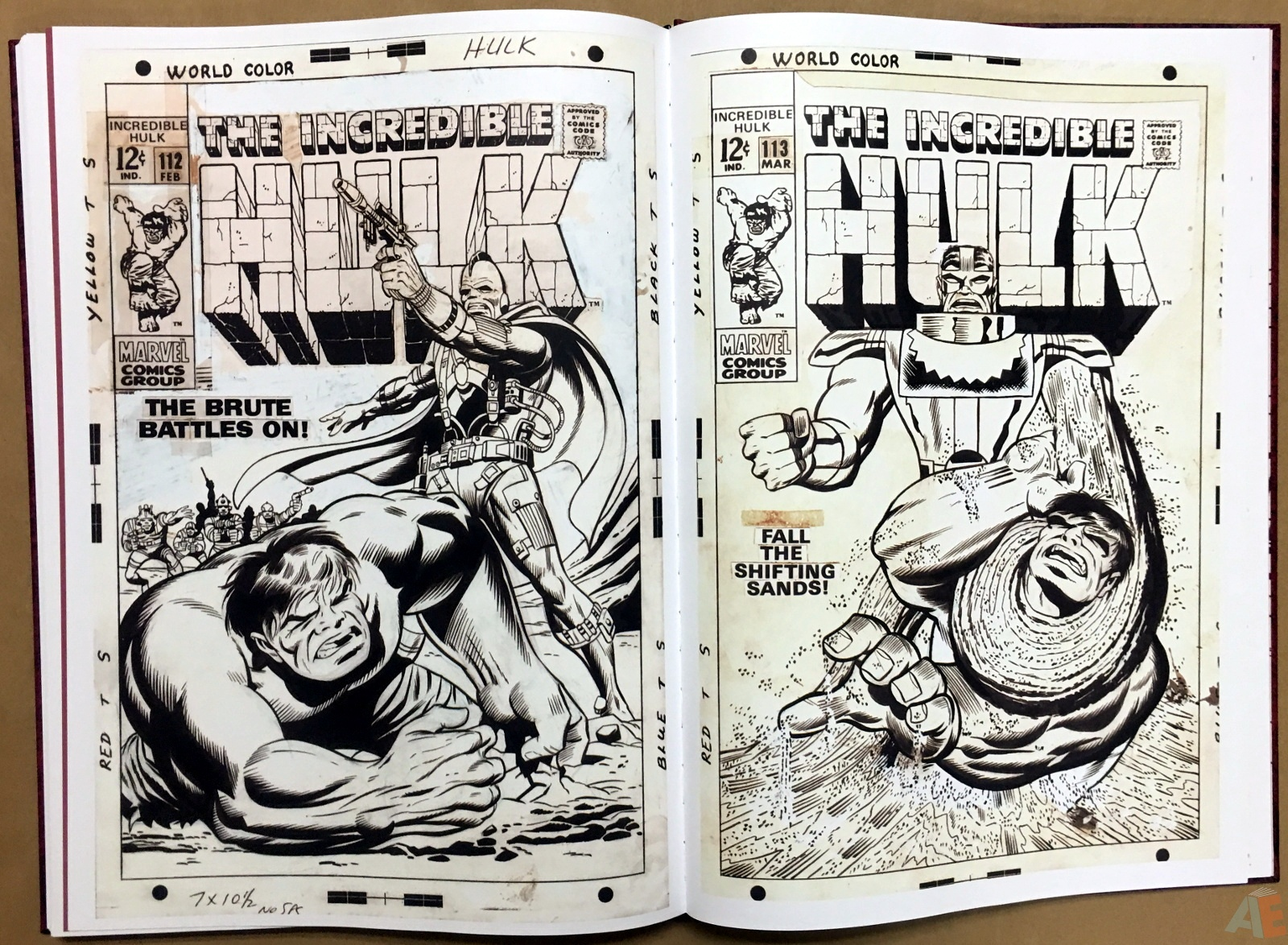 Herb Trimpe's The Incredible Hulk Artist's Edition 46