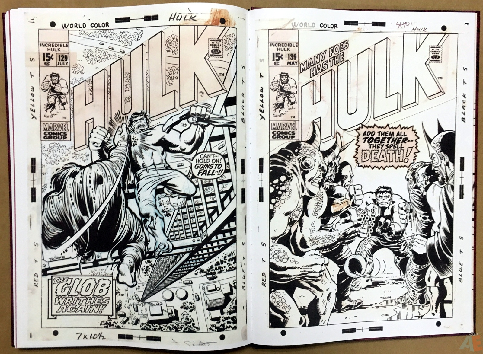 Herb Trimpe's The Incredible Hulk Artist's Edition 48