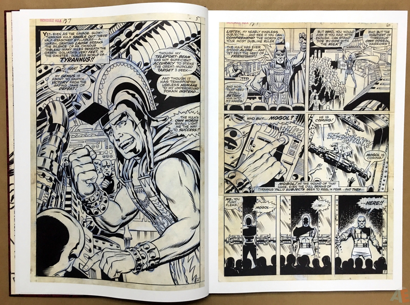 Herb Trimpe's The Incredible Hulk Artist's Edition 8