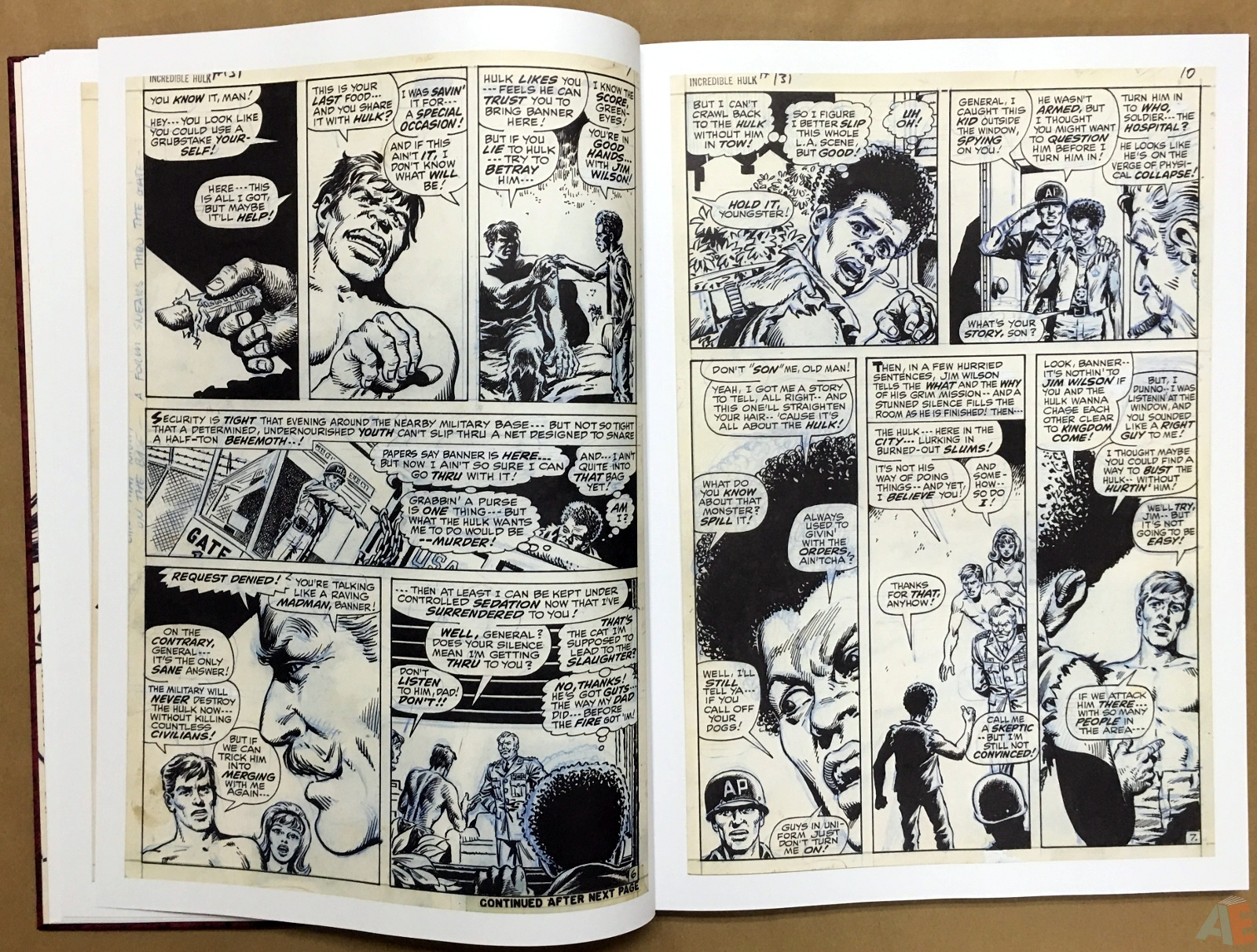 Herb Trimpe's The Incredible Hulk Artist's Edition 14