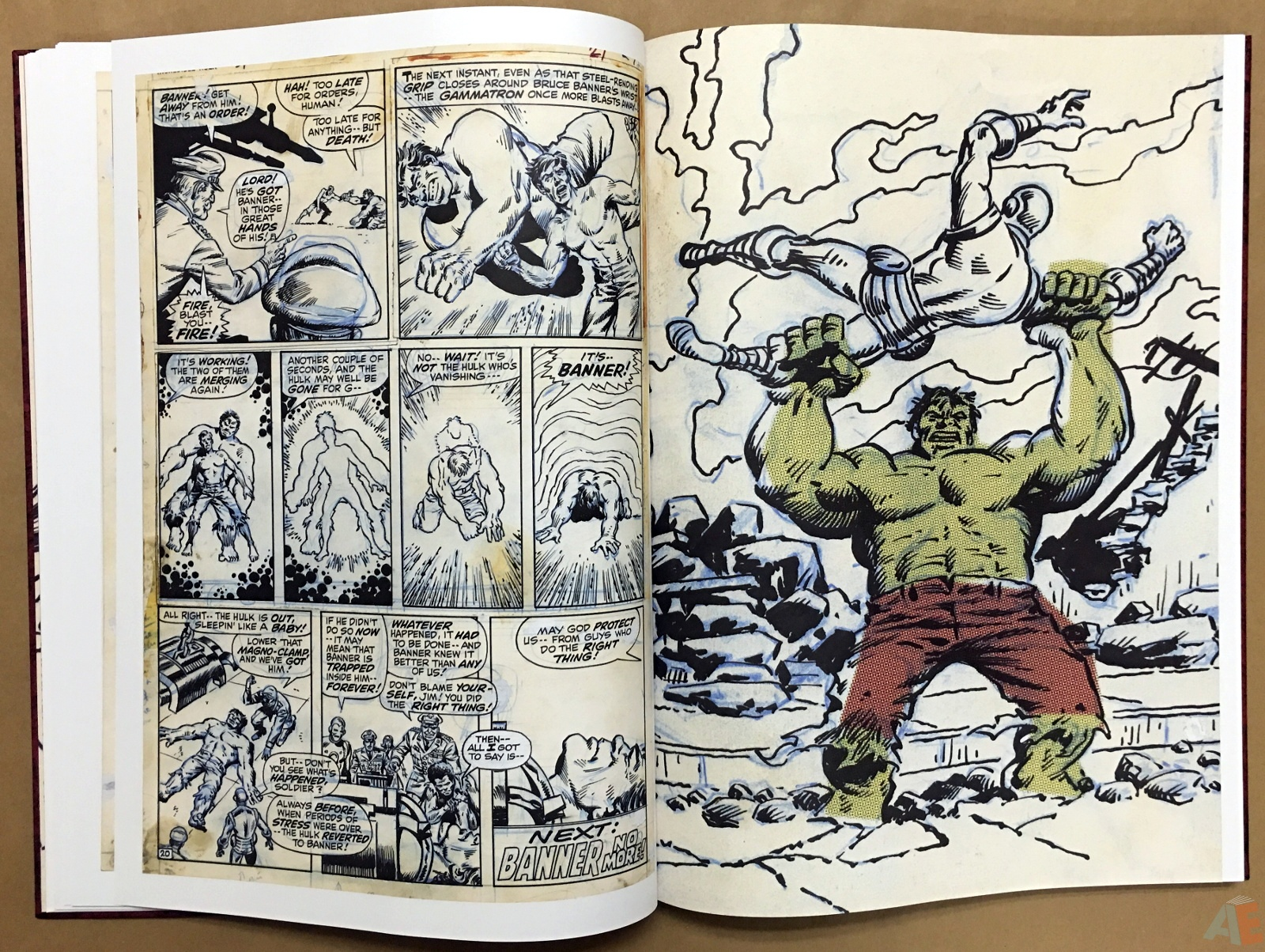 Herb Trimpe's The Incredible Hulk Artist's Edition 16