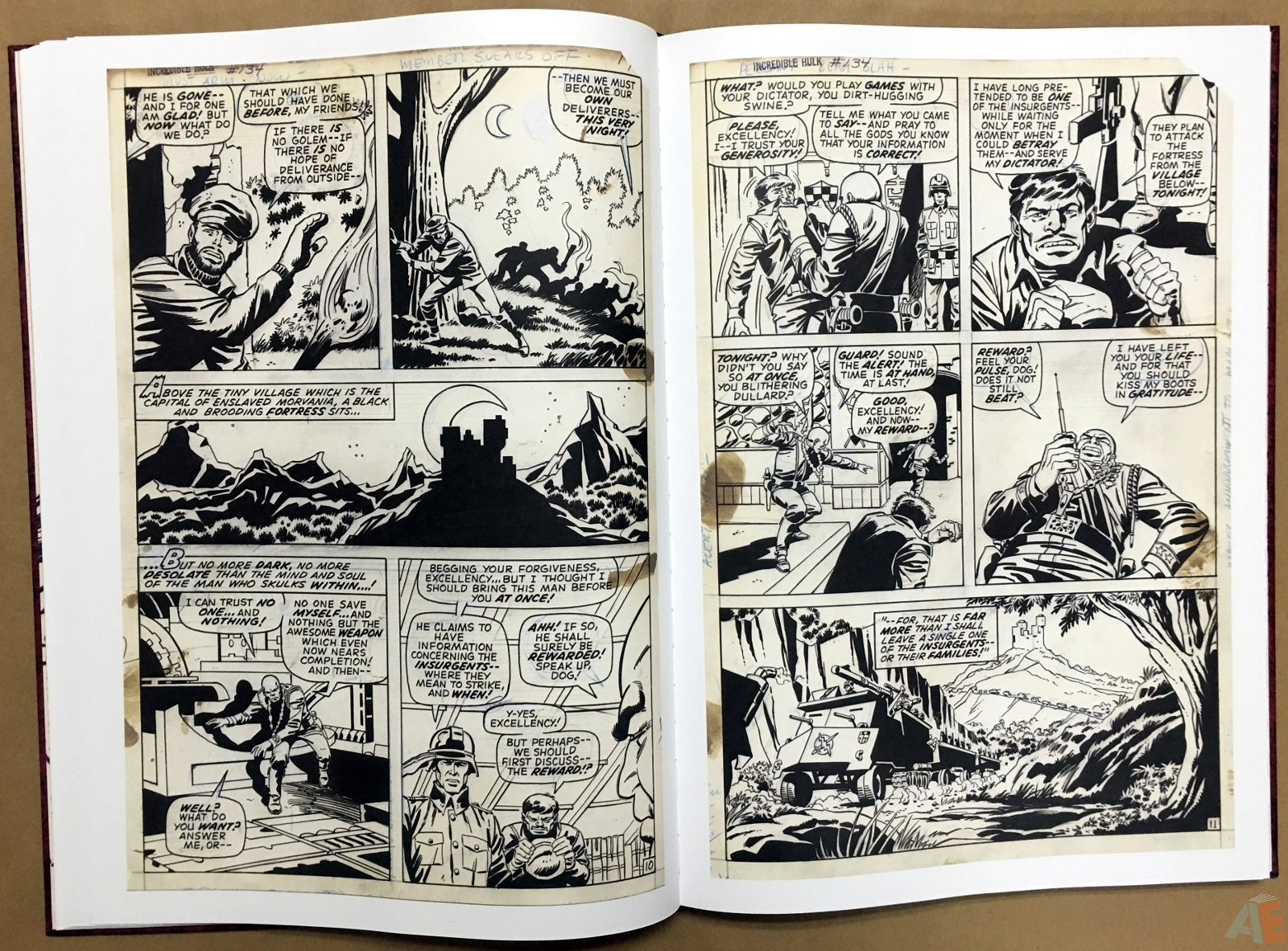 Herb Trimpe's The Incredible Hulk Artist's Edition 18
