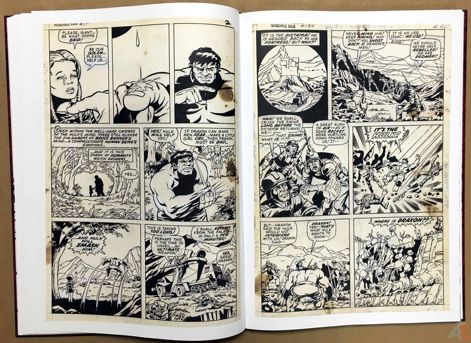 Herb Trimpe's The Incredible Hulk Artist's Edition 20