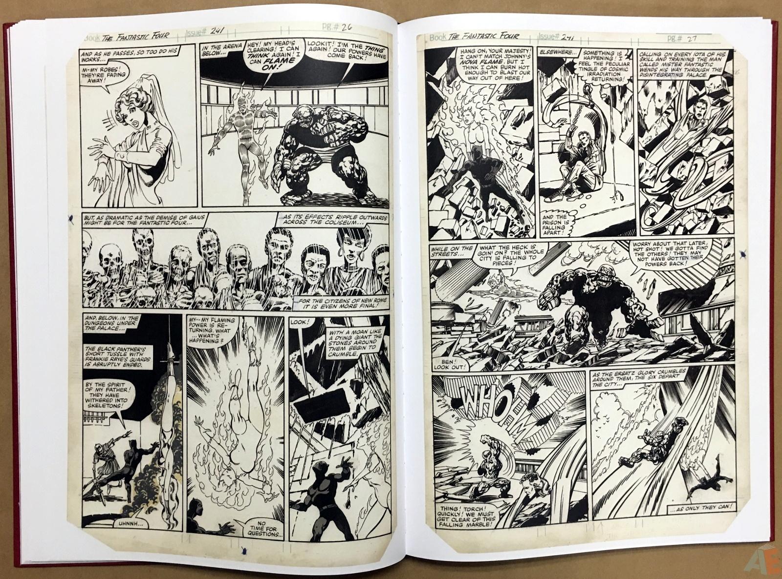 John Byrne's The Fantastic Four Artist's Edition 22