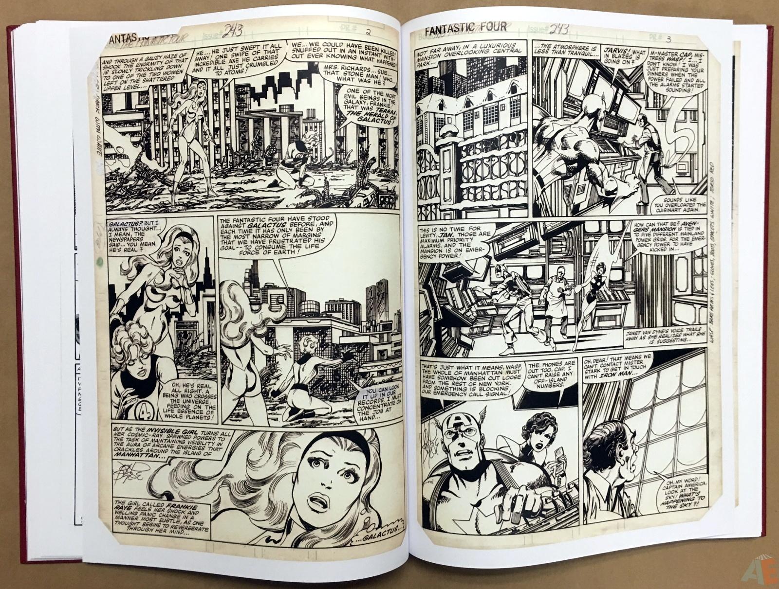John Byrne's The Fantastic Four Artist's Edition 24
