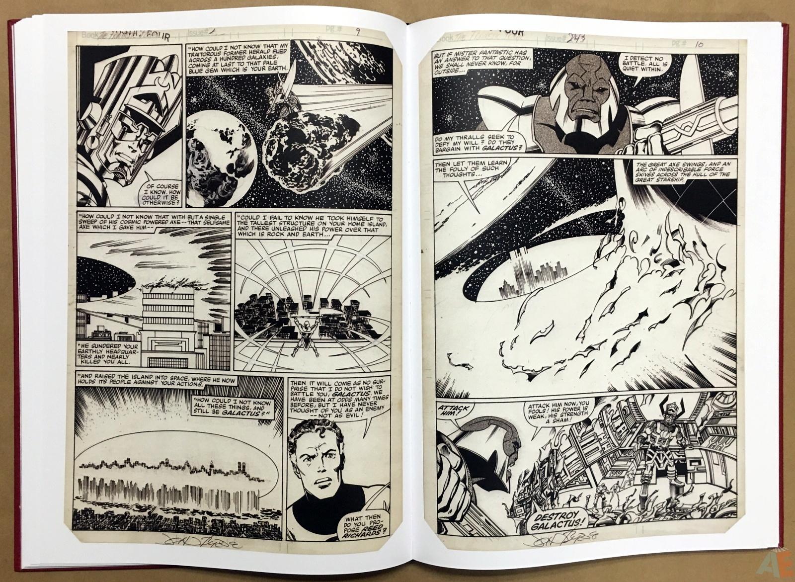 John Byrne's The Fantastic Four Artist's Edition 26