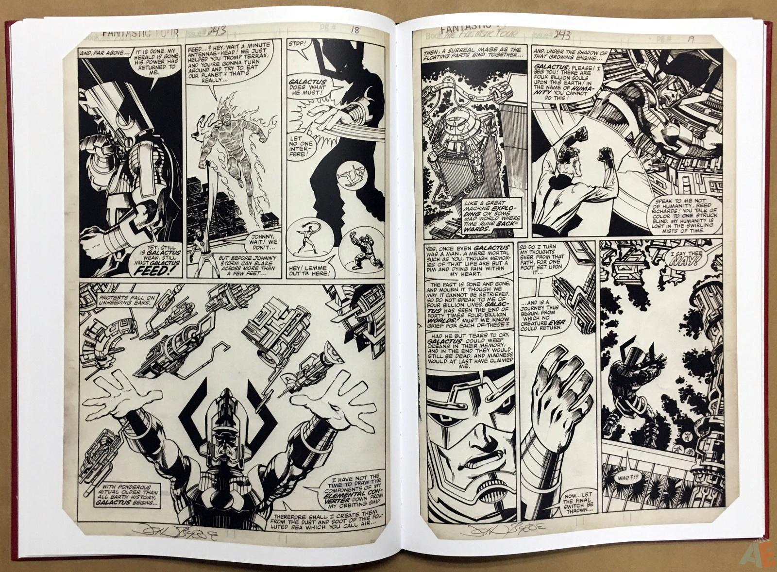 John Byrne's The Fantastic Four Artist's Edition 28