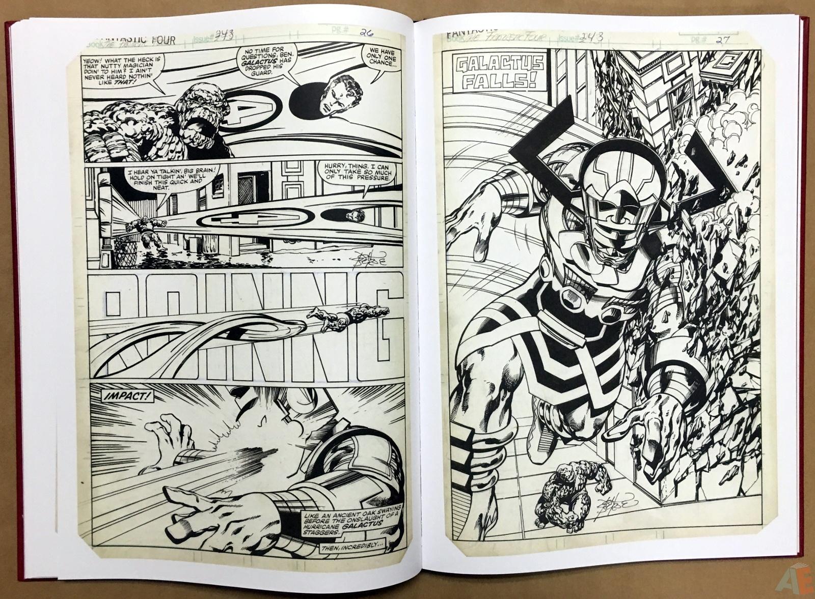 John Byrne's The Fantastic Four Artist's Edition 30