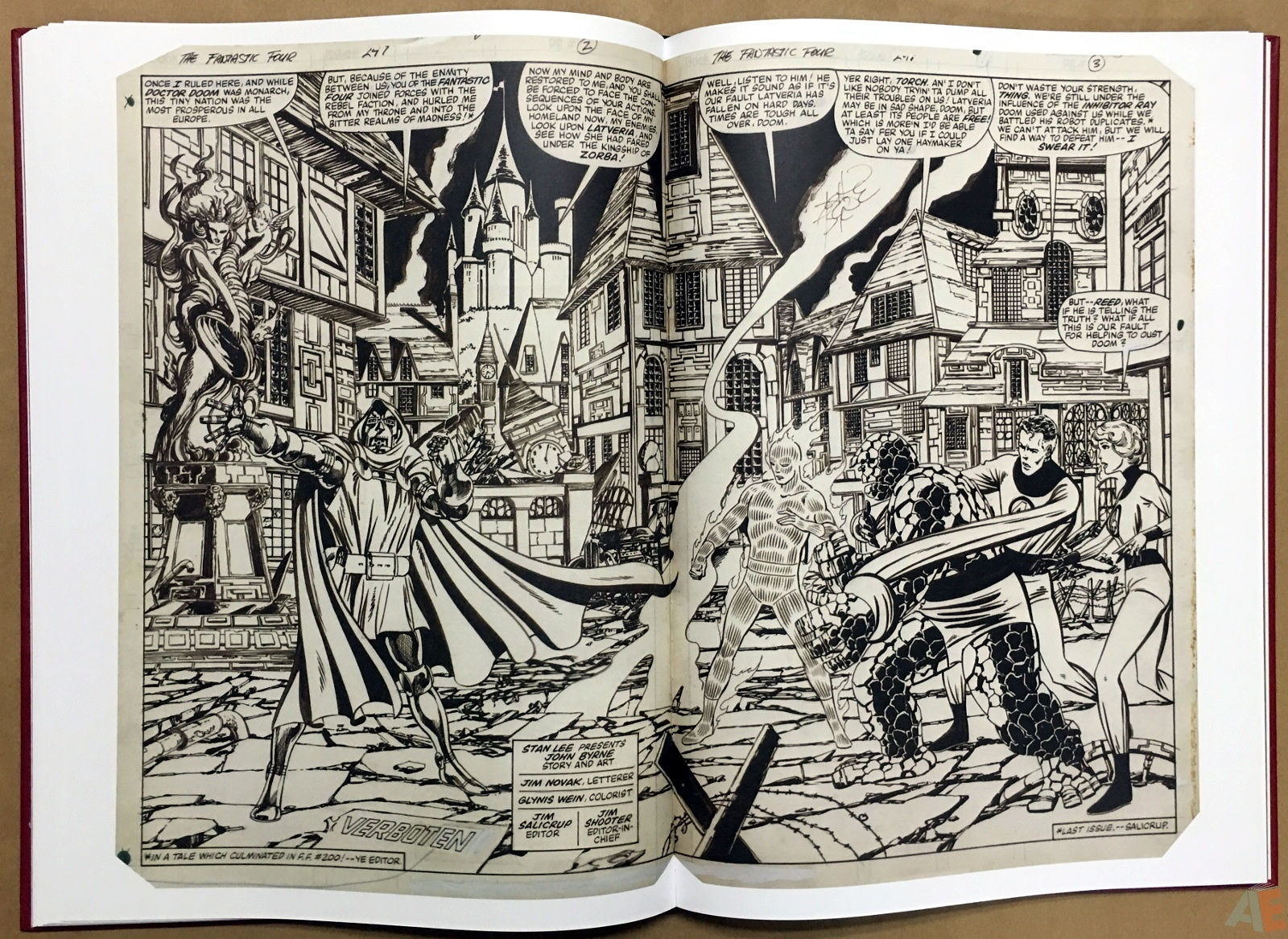 John Byrne's The Fantastic Four Artist's Edition 32