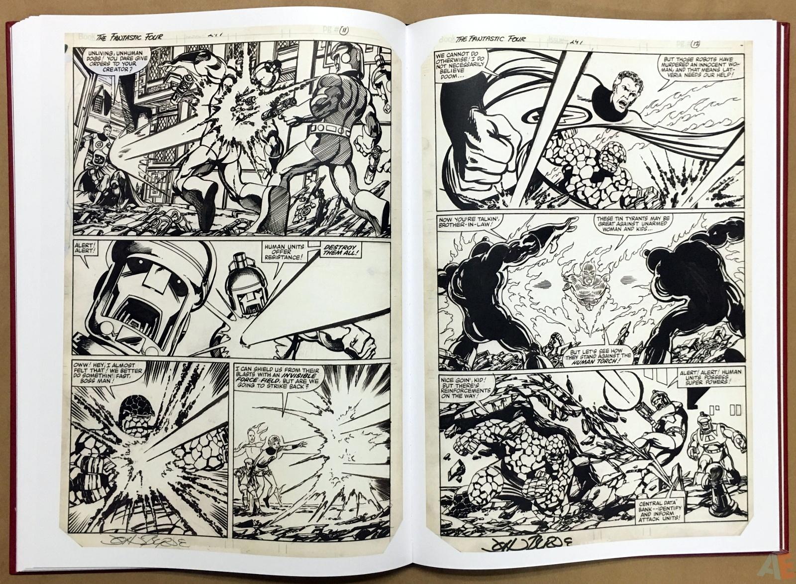John Byrne's The Fantastic Four Artist's Edition 34
