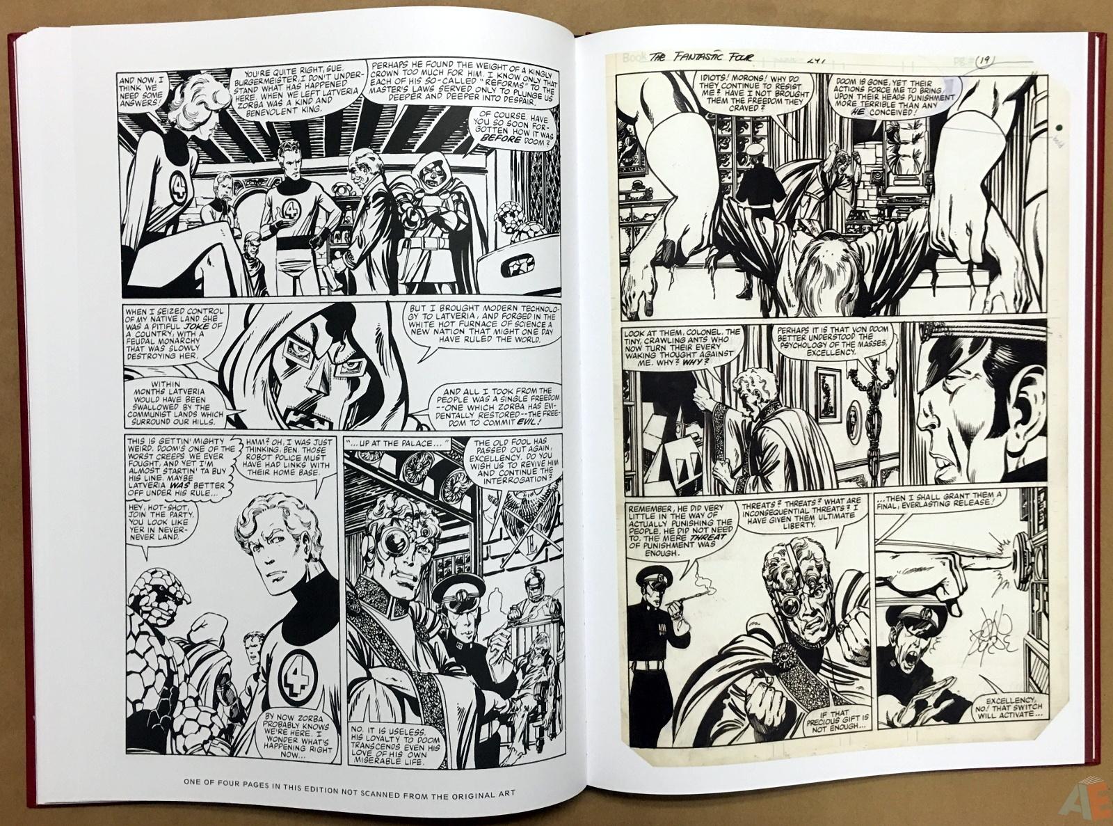 John Byrne's The Fantastic Four Artist's Edition 36