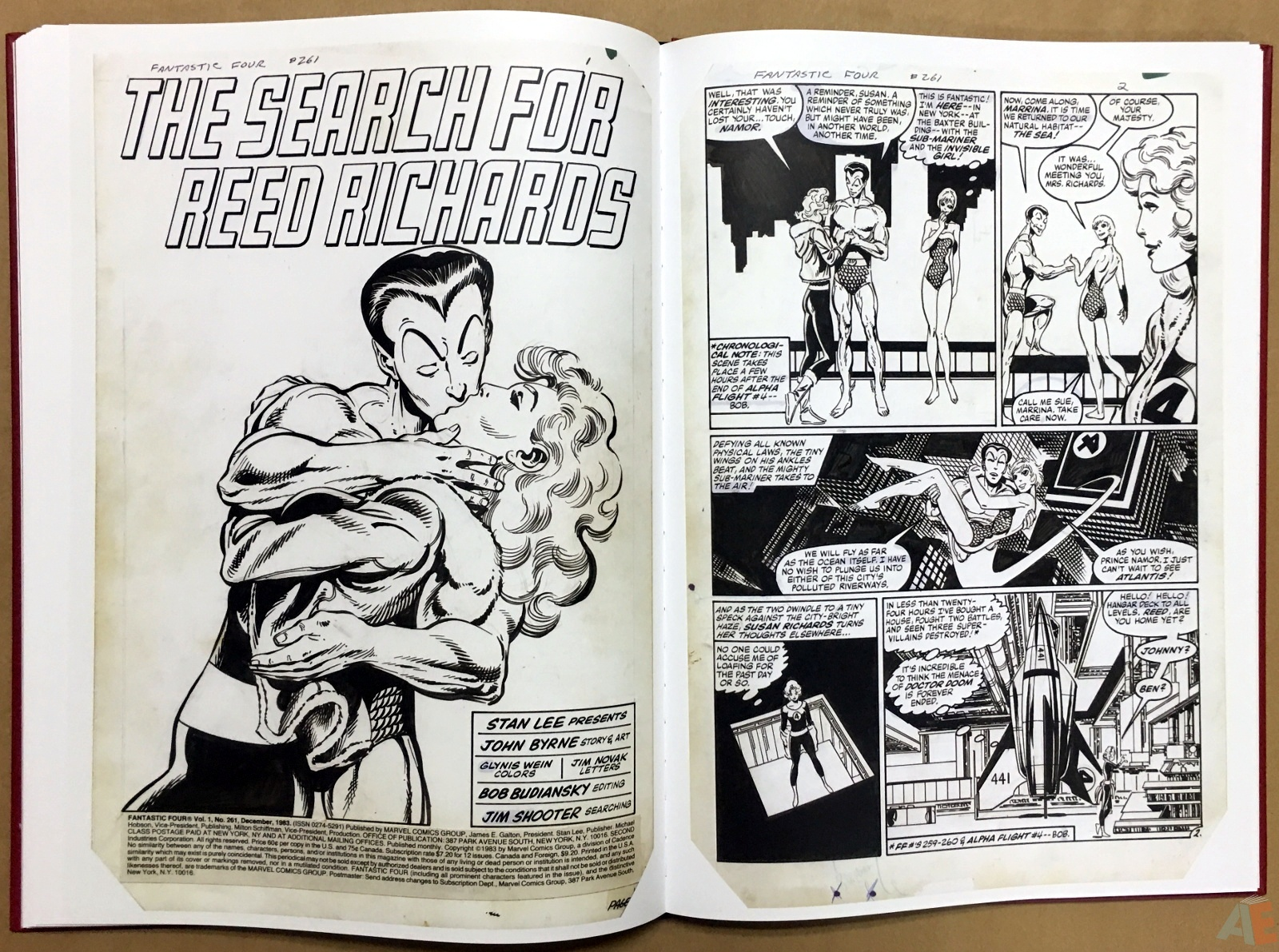 John Byrne's The Fantastic Four Artist's Edition 38