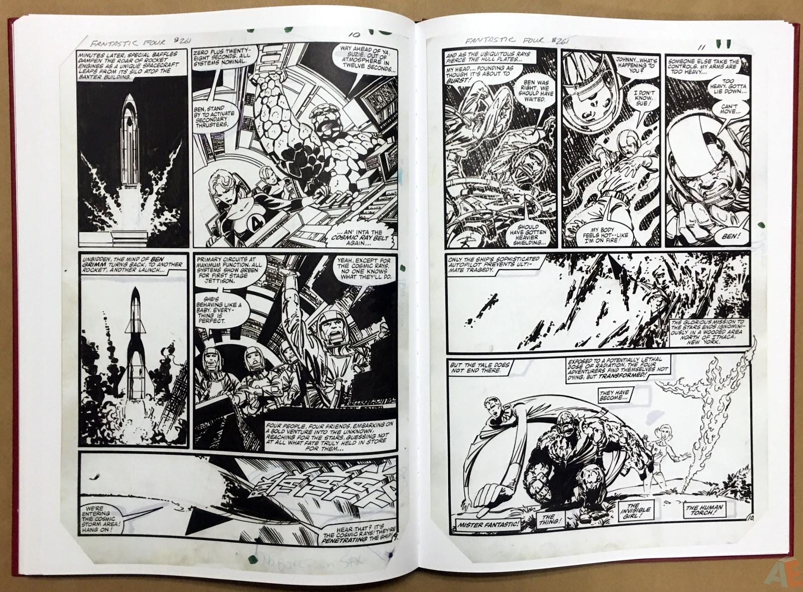 John Byrne's The Fantastic Four Artist's Edition 40