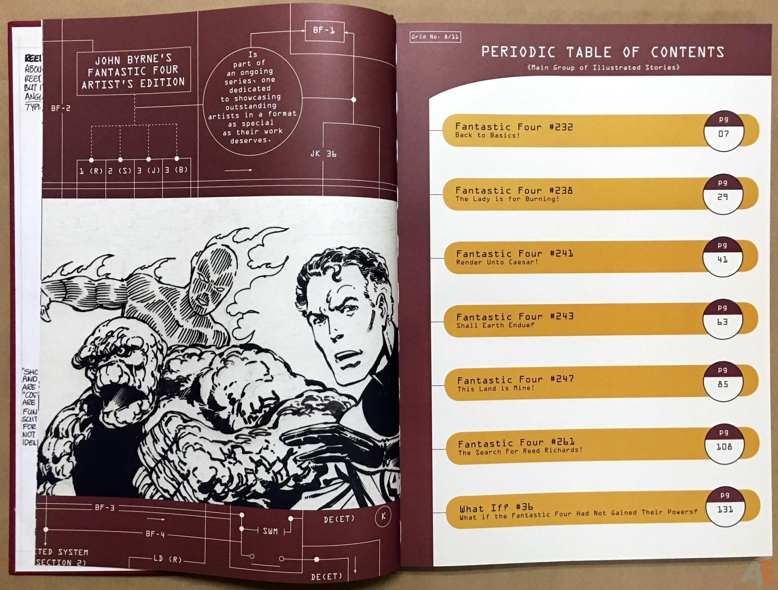 John Byrne's The Fantastic Four Artist's Edition 6