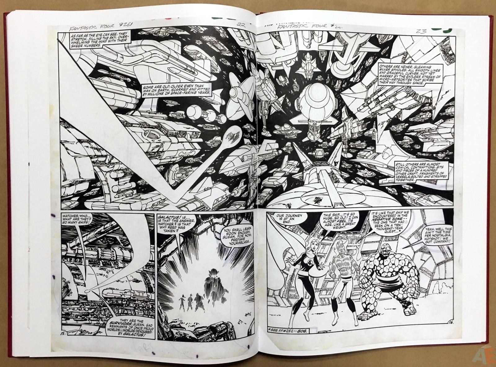John Byrne's The Fantastic Four Artist's Edition 42