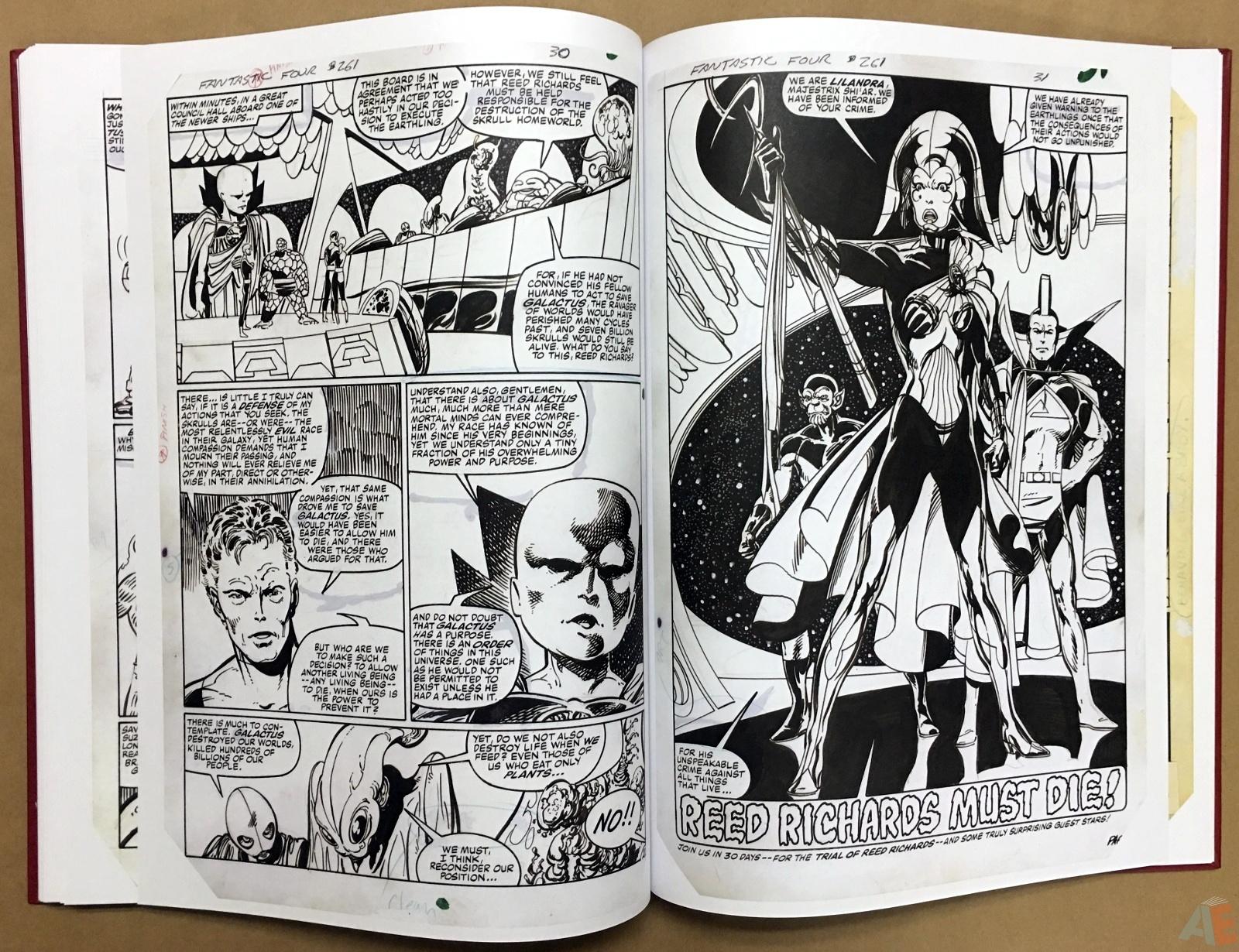 John Byrne's The Fantastic Four Artist's Edition 44