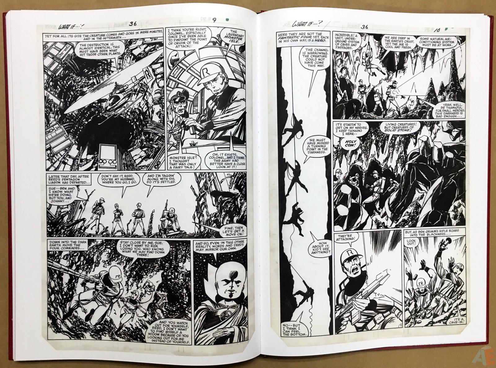 John Byrne's The Fantastic Four Artist's Edition 48