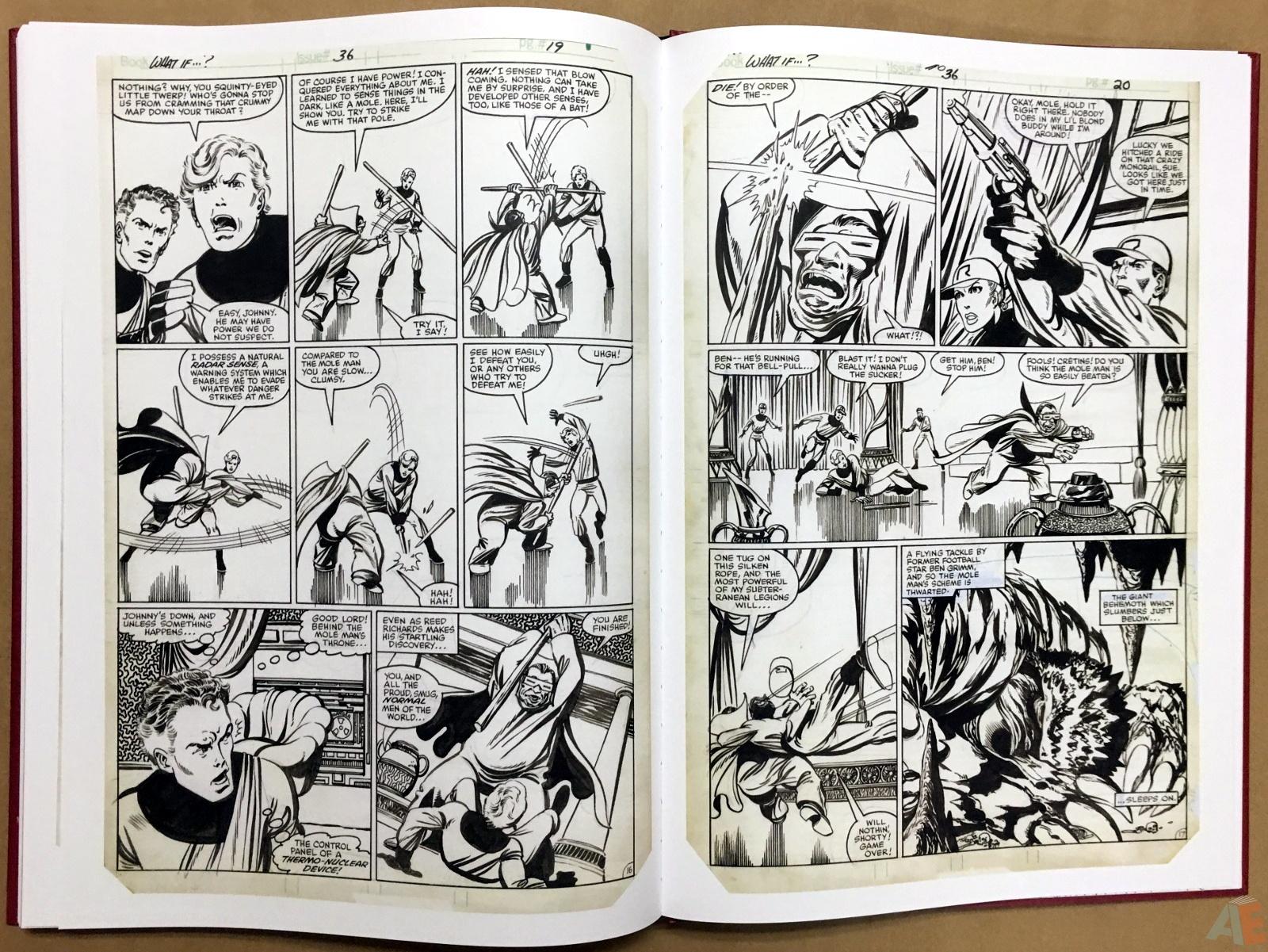 John Byrne's The Fantastic Four Artist's Edition 50