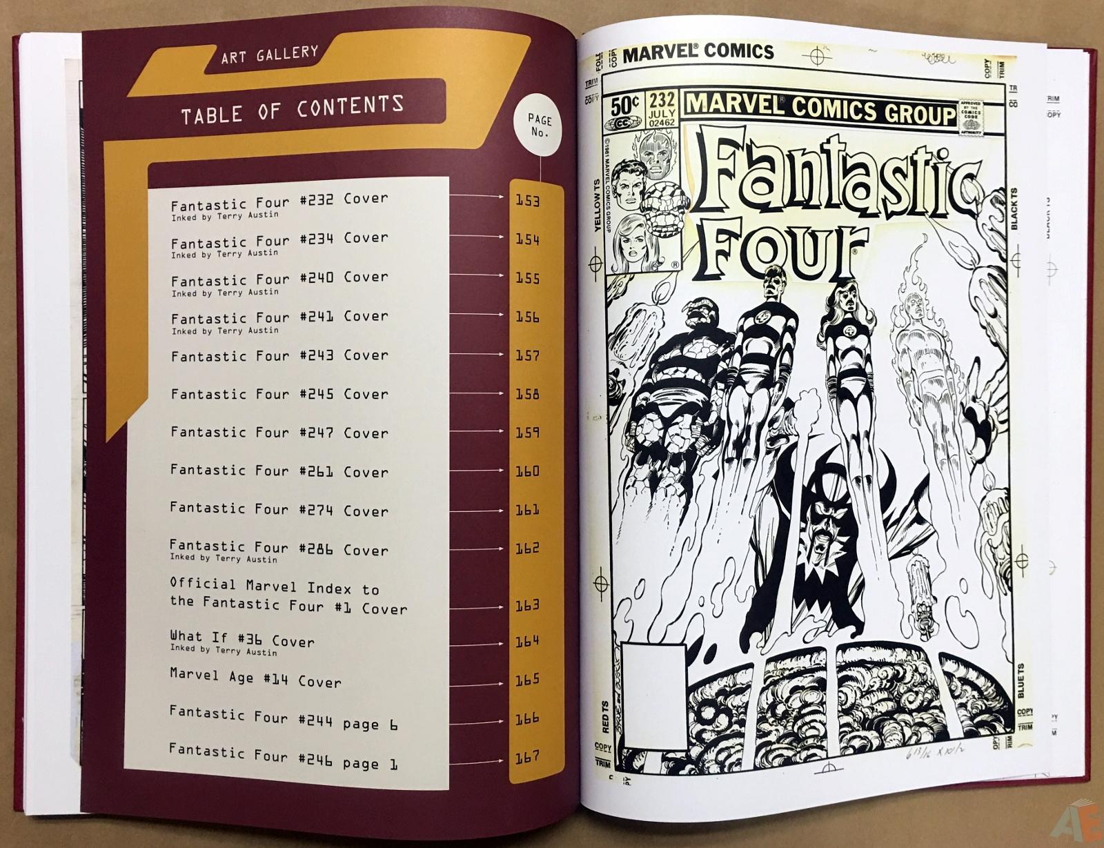 John Byrne's The Fantastic Four Artist's Edition 52