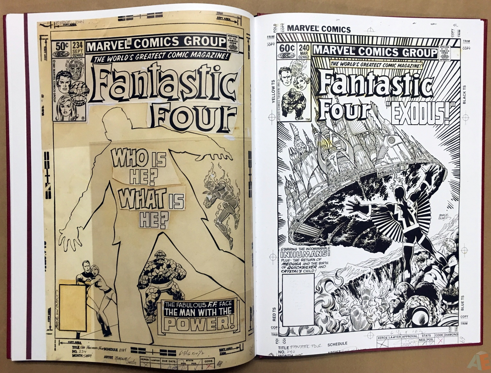 John Byrne's The Fantastic Four Artist's Edition 54