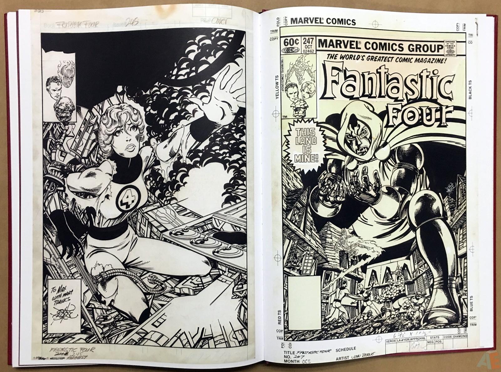 John Byrne's The Fantastic Four Artist's Edition 56