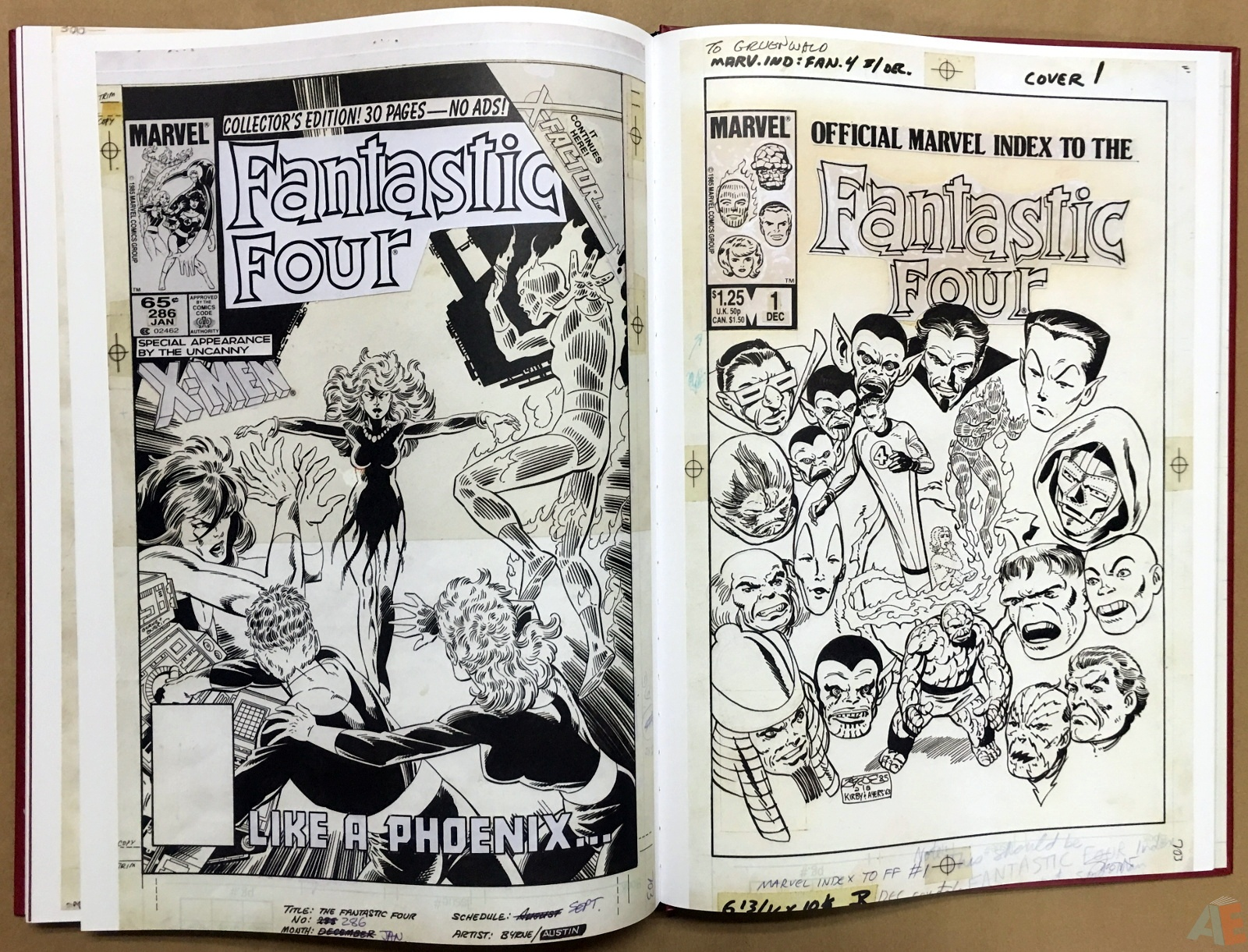John Byrne's The Fantastic Four Artist's Edition 58
