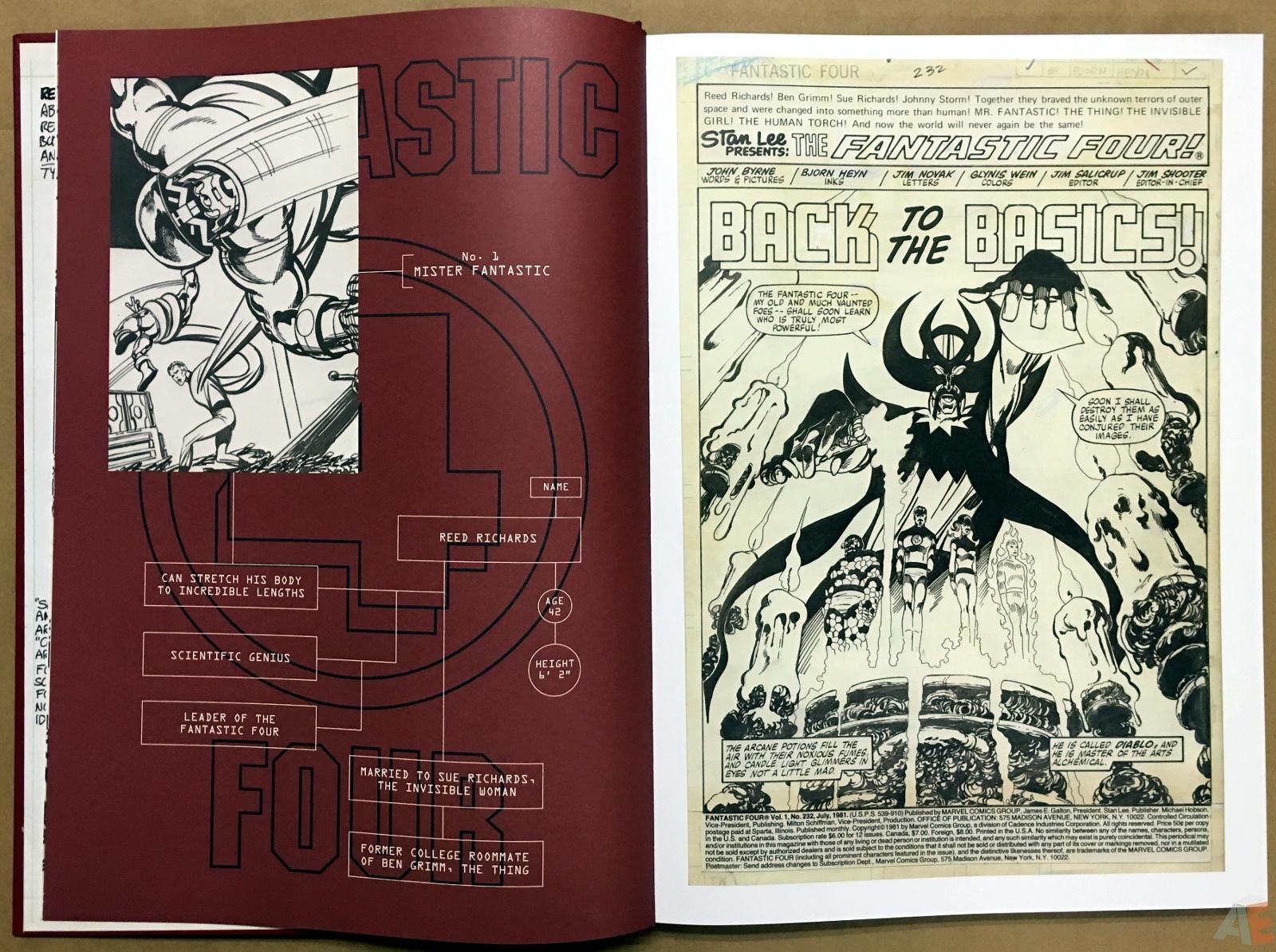 John Byrne's The Fantastic Four Artist's Edition 8