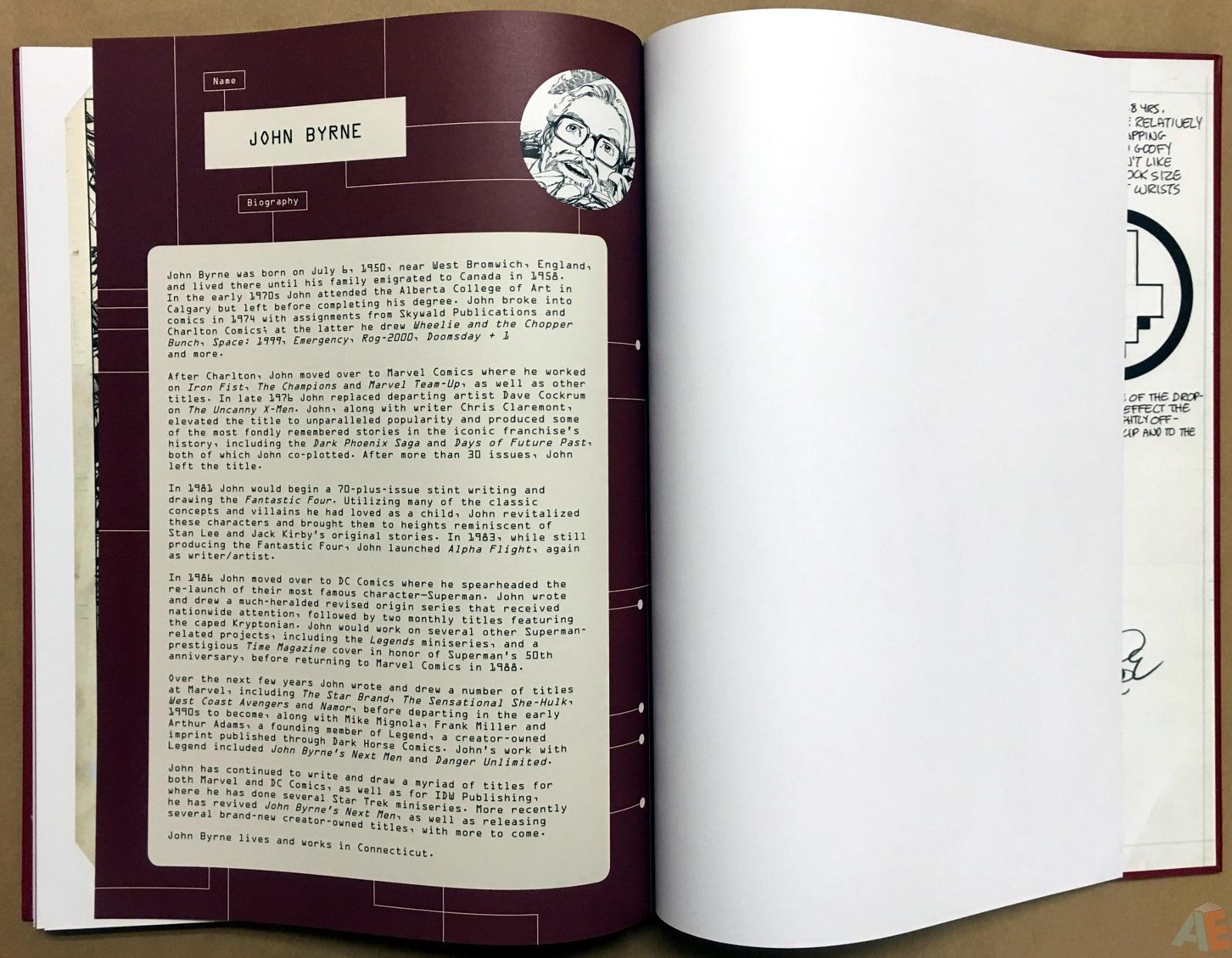 John Byrne's The Fantastic Four Artist's Edition 62