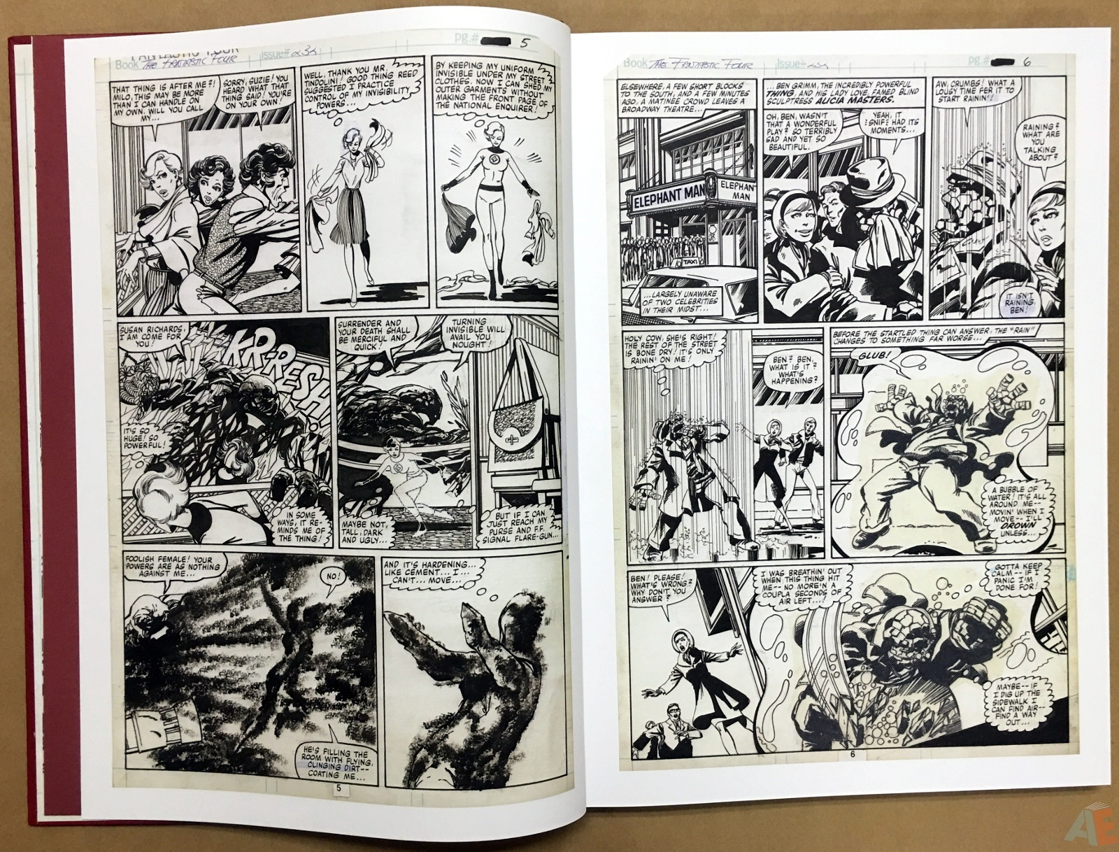 John Byrne's The Fantastic Four Artist's Edition 10